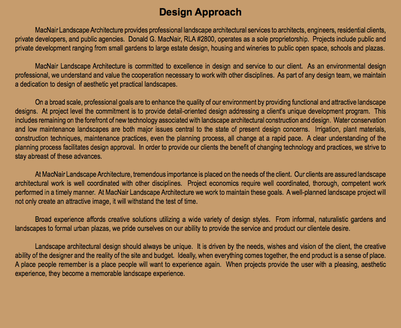 Architecture Design Philosophy design philosophy